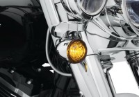 La Harley-Davidson con luci a LED